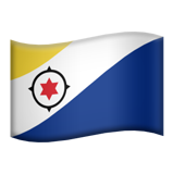 Flag: Caribbean Netherlands on Apple iOS 9.1