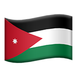 Flag: Jordan on Apple iOS 9.1