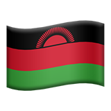 Flag: Malawi on Apple iOS 9.1