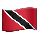 Flag: Trinidad & Tobago on Apple iOS 9.1