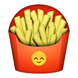 French Fries on Apple iOS 9.1