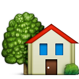 House With Garden on Apple iOS 9.1