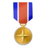 Military Medal on Apple iOS 9.1