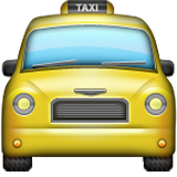 Oncoming Taxi on Apple iOS 9.1