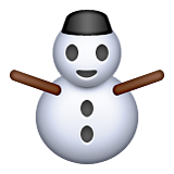 Snowman Without Snow on Apple iOS 9.1