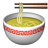 Steaming Bowl on Apple iOS 9.1