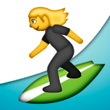 Person Surfing on Apple iOS 9.1