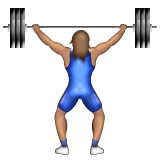 Person Lifting Weights: Medium Skin Tone on Apple iOS 9.1