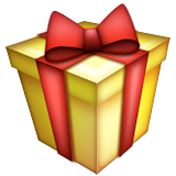 Wrapped Gift on Apple iOS 9.1