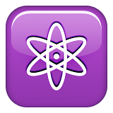 Atom Symbol on Apple iOS 9.3