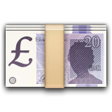 Pound Banknote on Apple iOS 9.3