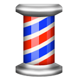 Barber Pole on Apple iOS 9.3