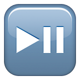Play or Pause Button on Apple iOS 9.3