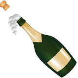 Bottle With Popping Cork on Apple iOS 9.3