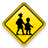 Children Crossing on Apple iOS 9.3