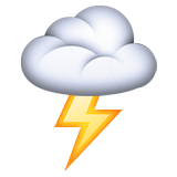 Cloud With Lightning on Apple iOS 9.3