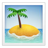 Desert Island on Apple iOS 9.3