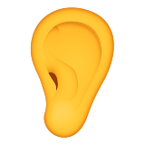 Ear on Apple iOS 9.3