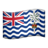 Flag: British Indian Ocean Territory on Apple iOS 9.3