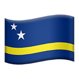 Flag: Curaçao on Apple iOS 9.3