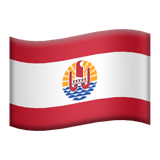 Flag: French Polynesia on Apple iOS 9.3