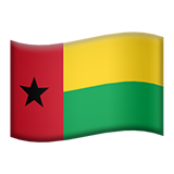 Flag: Guinea-Bissau on Apple iOS 9.3