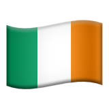Flag: Ireland on Apple iOS 9.3
