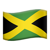Flag: Jamaica on Apple iOS 9.3