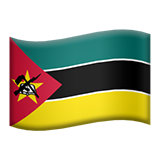 Flag: Mozambique on Apple iOS 9.3