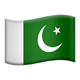Flag: Pakistan on Apple iOS 9.3