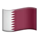 Flag: Qatar on Apple iOS 9.3