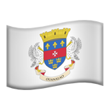 Flag: St. Barthélemy on Apple iOS 9.3