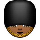 Guard: Medium-Dark Skin Tone on Apple iOS 9.3