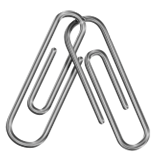 Linked Paperclips on Apple iOS 9.3