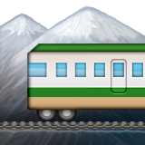 Mountain Railway on Apple iOS 9.3