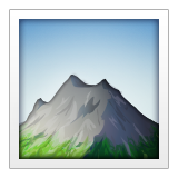 Mountain on Apple iOS 9.3