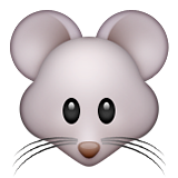 Mouse Face on Apple iOS 9.3