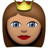 Princess: Medium Skin Tone on Apple iOS 9.3