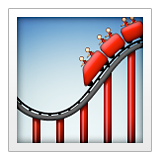 Roller Coaster on Apple iOS 9.3