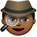 Detective: Medium-Dark Skin Tone on Apple iOS 9.3