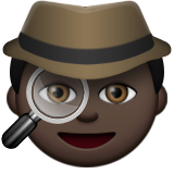 Detective: Dark Skin Tone on Apple iOS 9.3