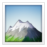 Snow-Capped Mountain on Apple iOS 9.3