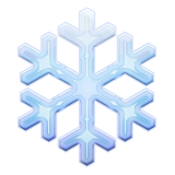 Snowflake on Apple iOS 9.3