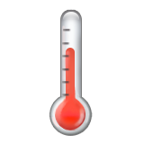 Thermometer on Apple iOS 9.3