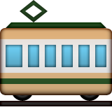Tram Car on Apple iOS 9.3