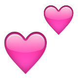 Two Hearts on Apple iOS 9.3