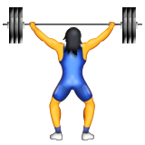 Person Lifting Weights on Apple iOS 9.3