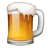 Beer Mug on Apple iOS 8.3