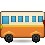Bus on Apple iOS 8.3