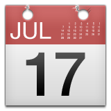 Calendar on Apple iOS 8.3
